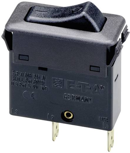 E-T-A termikus billenőkapcsoló, 1 pólusú, 240V/AC, 0,5A, 3130-F110-P7T1-W01Q-0,5A