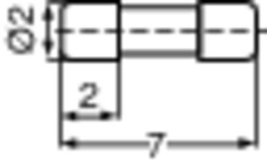 Mini biztosíték 4,0 A 2x7mm