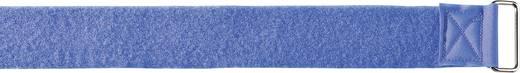 Tépőzáras biztonsági öv, kék, 7 m x 50 mm