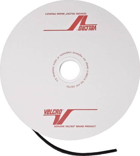 Tépőzár bolyhos és horgos fél, 1 m x 25 mm, fekete, méteráru, Velcro ONE-WRAP
