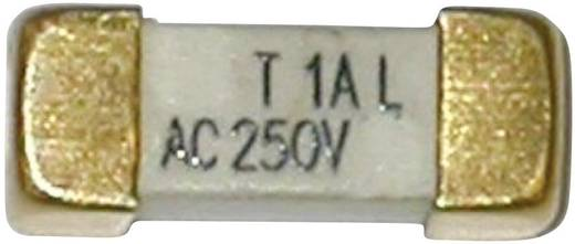 SMD biztosíték SMD Szögletes 1.25 A 250 V Lomha -T- ESKA 225018 1 db