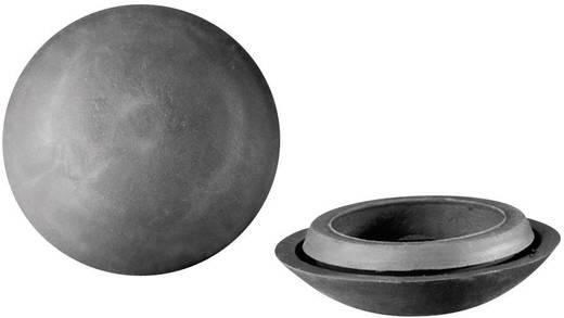 PB Fastener lyuk lezáró vakdugó, IP67, Ø35,8x10,2 mm, sötétszürke, 443 3832