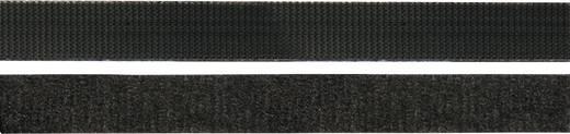Tépőzáras kábelkötöző, 150 mm x 10 mm, fekete, 1200 db