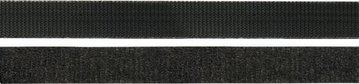 Tépőzáras kábelkötöző, 150 mm x 10 mm, fekete