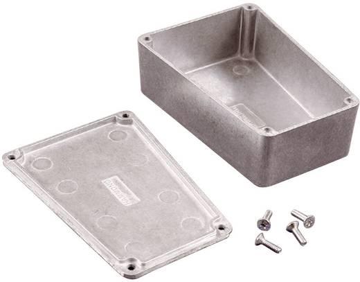 Hammond Electronics présöntött doboz, trapéz formájú 1590TRPCYL présöntött (H x Sz x Ma) 95 x 151 x 39 mm, sárga