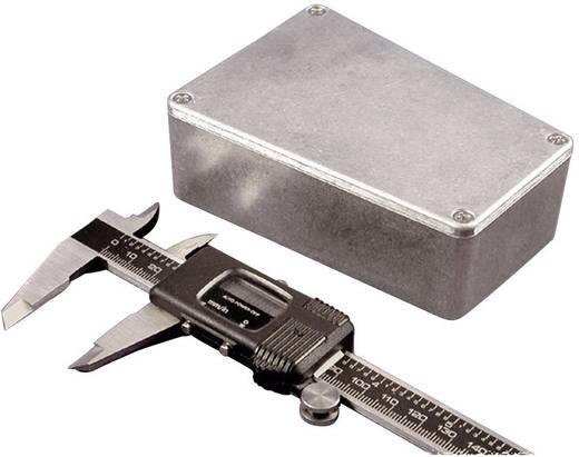 Hammond Electronics présöntött doboz, trapéz formájú 1590TRPBGR présöntött (H x Sz x Ma) 112 x 78.96 x 39.2 mm, zöld