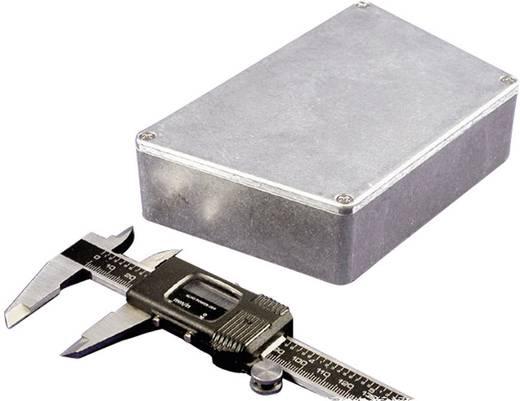 Hammond Electronics présöntött doboz, trapéz formájú 1590TRPCBK présöntött (H x Sz x Ma) 151.02 x 95 x 39 mm, fekete