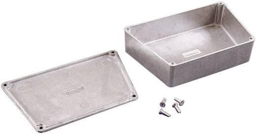 Hammond Electronics présöntött doboz, trapéz formájú 1590TRPCGR présöntött (H x Sz x Ma) 151.02 x 95 x 39 mm, zöld