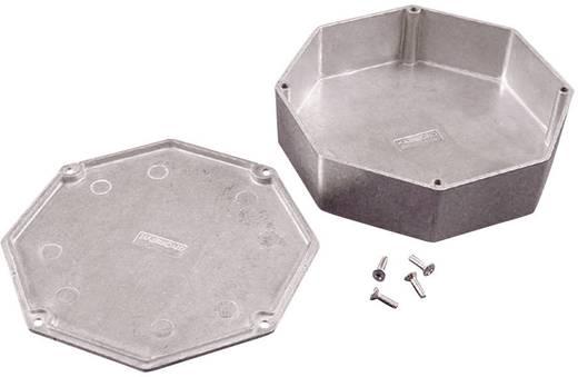 Hammond Electronics présöntött doboz, nyolcszögű 1590STPCCB présöntött, 132,78 x 132,78 x 39,2 mm, kobaltkék