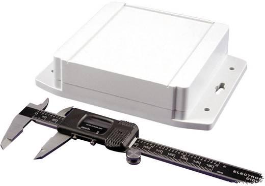 Hammond Electronics műanyag doboz, vízálló, 1555 1555NF17GY ABS (H x Sz x Ma) 120 x 120 x 37.2 mm, fényes szürke