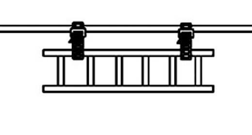 SOFTFIX® kábelkötöző, nyitható (H x Sz) 880 mm x 28 mm SRT88028 Szín: Fekete 1 db HellermannTyton