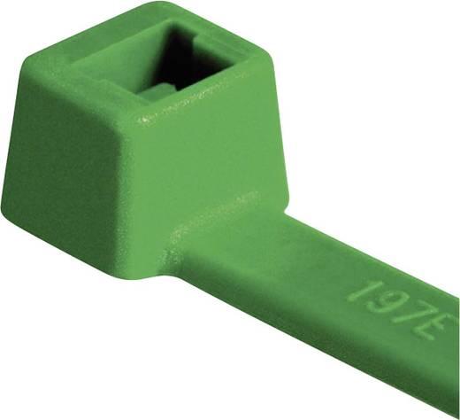 Kábelkötöző készlet 4,6x205 mm 100 db zöld HellermannTyton 116-08015