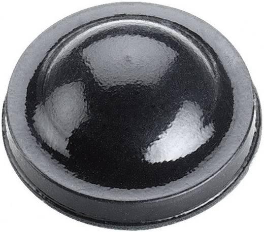 Öntapadós műszerláb, kerek Ø 15,9 x 6,35 mm, fekete, 3M SJ 6125