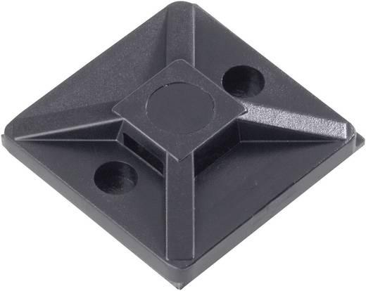 HellermannTyton lecsavarózható kábelrögzítő, fekete, MB5APT-PA66-BK-C1