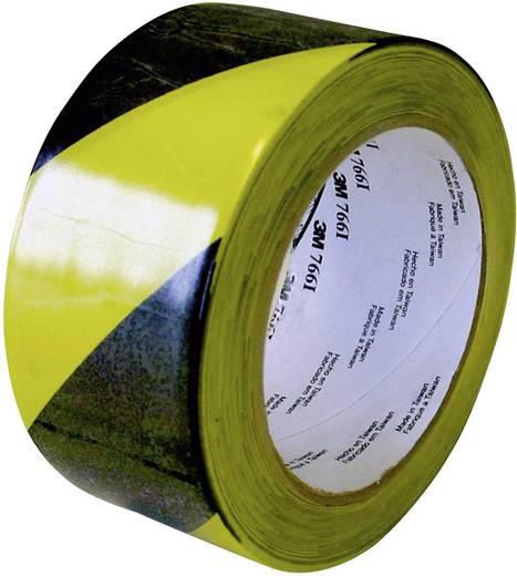 PVC jelölő ragasztószalag (H x Sz) 33 m x 50 mm, fekete, sárga PVC 766i 3M, tartalom: 1 tekercs