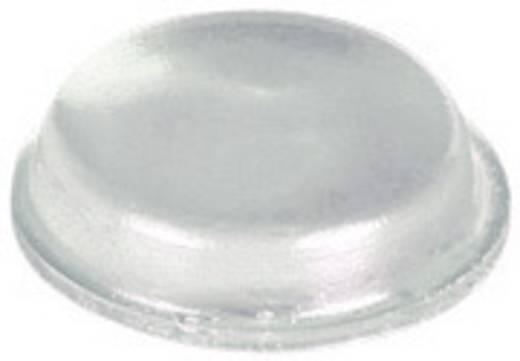 Pb öntapadós műszerláb Ø12,7 x 3,5 mm, fekete, 10 db, BS-01-BK-R-10