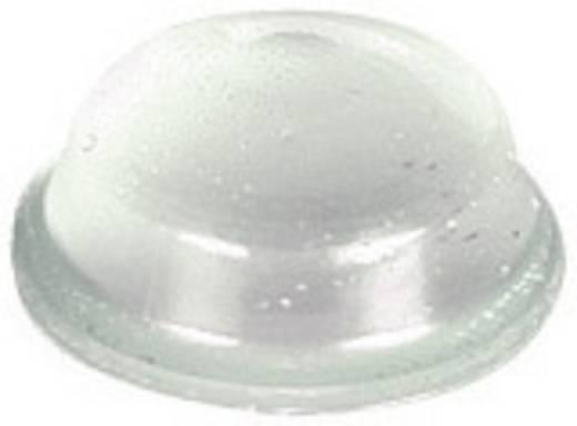 Pb öntapadós műszerláb Ø11,1 x 5,1 mm, fekete, 11 db, BS-02-BK-R-11