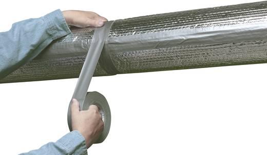 Szövetbetétes ragasztószalag, 50 m x 50 mm, ezüst, Coroplast