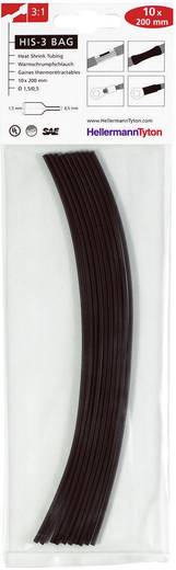 Zsugorcső készlet, HIS-3-BAG-3/1 2M, barna