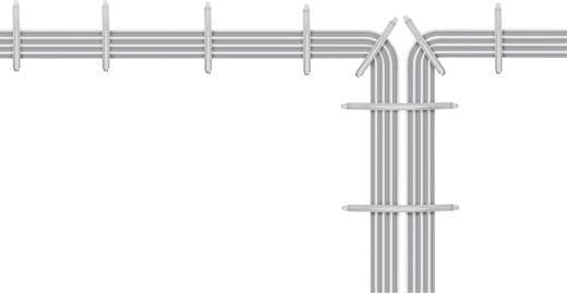 Kábelcsíptető kar, egy kézzel beszerelhető kivitel 700910, világosszürke, tartalom: 1 db