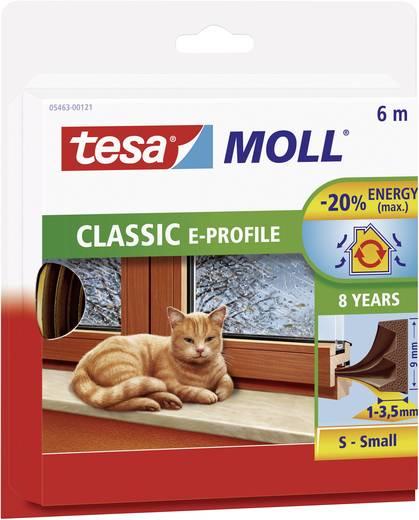 E profilú ablak szigetelő gumi, barna, 6 m x 9 mm, tesamoll 05463-00121-00 TESA 1 tekercs