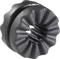Richco Rázkódás elleni gallér VG-5, fekete (A x B x C x D) 9.5 x 3.6 x 2.1 x 5.5 mm (VG-5) Richco