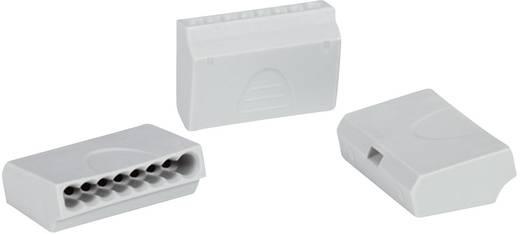 Vezetékösszekötő 5 vezetékes, 1 - 2,5 mm² 24A, átlátszó, 1 db, HellermannTyton 148-90018