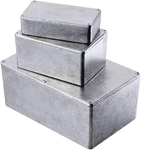 Hammond Electronics alumínium présnyomással készült doboz 1590WQBK, 120 x 120 x 32 mm, fekete
