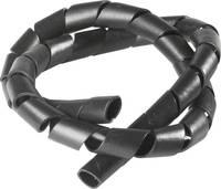 Spiráltömlő, kötegelési Ø: 7 - 40 mm, fekete SB 75 E SW PB Fastener, méteráru PB Fastener