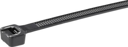Kábelkötöző, 368 MM, fekete, PLT4H 100 db