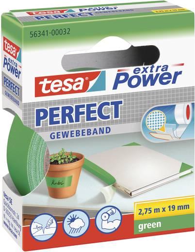 Szövetbetétes ragasztószalag, zöld, 2,75 m x 19 mm, tesa® EXTRA POWER