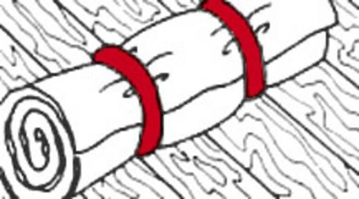 Tépőzár szalag, 5 m x 20 mm, fehér, Fastech