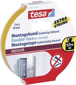 Kétoldalas ragasztószalag beltérre, 5m:19mm, TESA® tesa