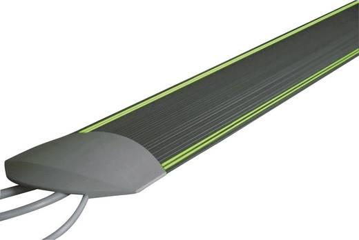 Fluoreszkálós, lépésálló kábelcsatorna 1.5 m x 95 mm Sötétszürke Serpa