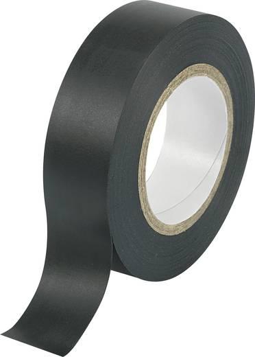 PVC szigetelőszalag (H x Sz) 25 m x 19 mm, fekete PVC Conrad, tartalom: 1 tekercs