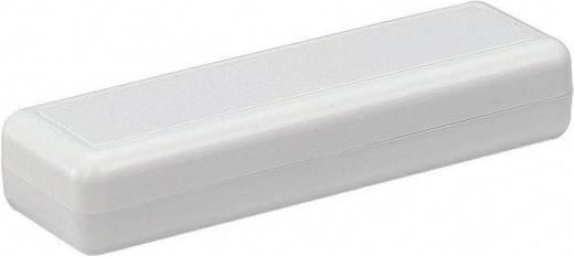 Kézi műszerdoboz ABS műanyag 129 x 40 x 24 mm, szürke, Strapubox 2090