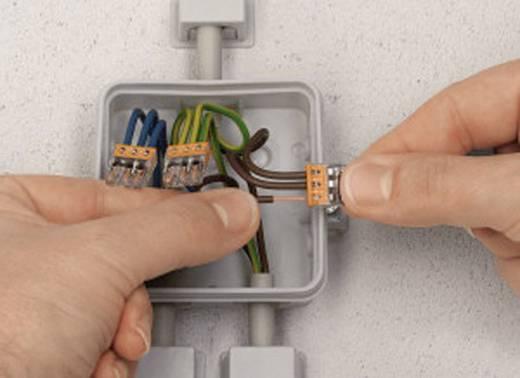 Sorkapocs, 8 pólus, 0,5-2,5 mm², szürke (átlátszó) WAGO COMPACT CONNECTOR