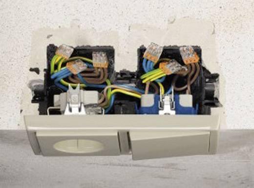 Sorkapocs, 5 pólus, 0,5-2,5 mm², sárga (átlátszó) WAGO COMPACT CONNECTOR