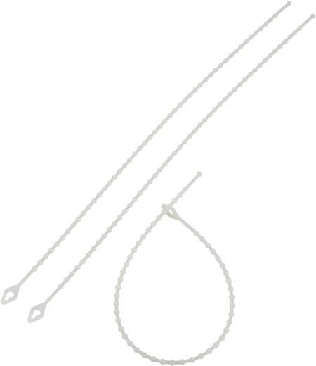 Kábelkötözők, csomós (H x Sz) 230 mm x 3.8 mm TV230 Natúr KSS