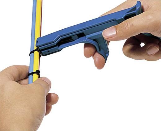Kábelkötöző fogó Kábelkötöző szélesség (max.): 7.6 mm MK21 BLAU/SCHWARZ Kék, Fekete HellermannTyton