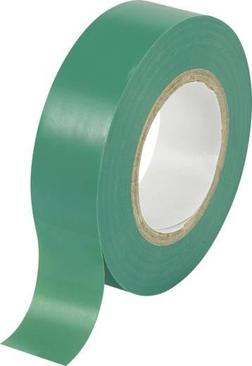 PVC szigetelőszalag (H x Sz) 10 m x 19 mm, zöld PVC SW10-158 Tru Components, tartalom: 1 tekercs
