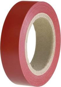 PVC szigetelőszalag, (H x Sz) 10 m x 15 mm, piros PVC HelaTape Flex 15 HellermannTyton, tartalom: 1 tekercs HellermannTyton