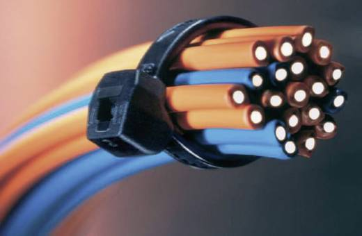 Kábelkötöző 150X40 T50SOS-W-BK-C1 100db
