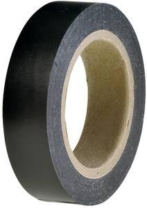 PVC szigetelőszalag, (H x Sz) 10 m x 15 mm, fekete PVC HelaTape Flex 15 HellermannTyton, tartalom: 1 tekercs HellermannTyton