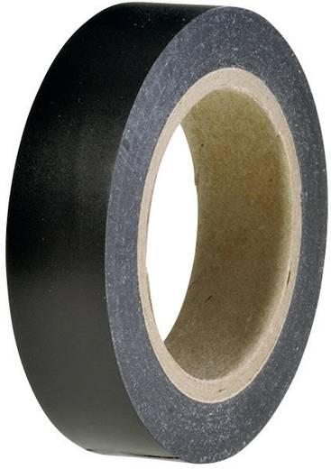 PVC szigetelőszalag, (H x Sz) 10 m x 15 mm, fekete PVC HelaTape Flex 15 HellermannTyton, tartalom: 1 tekercs