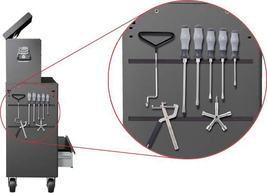 Mágneses fólia, mágneslap (H x Sz) 120 cm x 18.5 cm, sötétbarna MF1210-185 Conrad