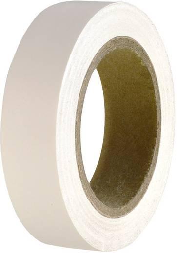 PVC szigetelőszalag, (H x Sz) 10 m x 15 mm, fehér PVC HelaTape Flex 15 HellermannTyton, tartalom: 1 tekercs