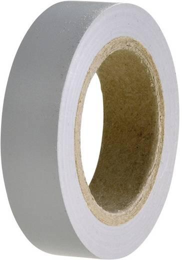 PVC szigetelőszalag, (H x Sz) 10 m x 15 mm, szürke PVC HelaTape Flex 15 HellermannTyton, tartalom: 1 tekercs