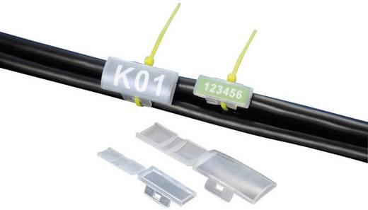 Kábeljelölő, natúr, 40 x 17 mm, 1 db, KSS MC2
