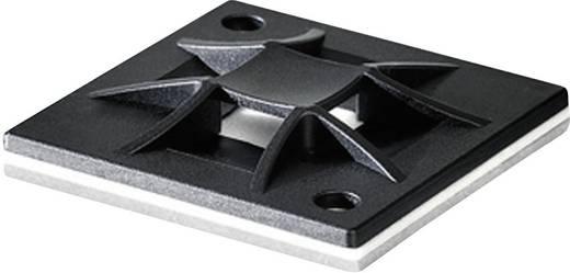 HellermannTyton Q-Mount kábelrögzítő, fekete, QM40-PA66-BK-L1